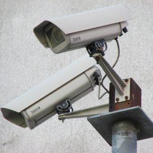 surveillance camera, camera, security